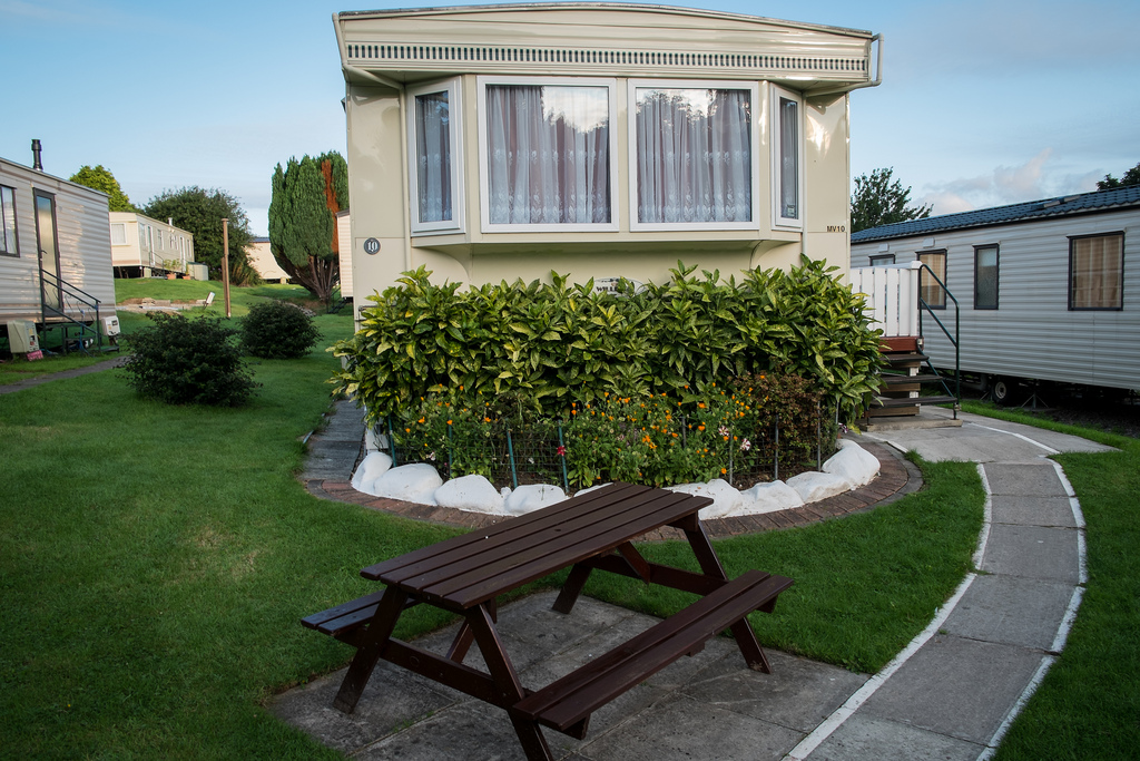 Static Caravan Owners - Making Outside Improvements to your Static Caravan Pitch
